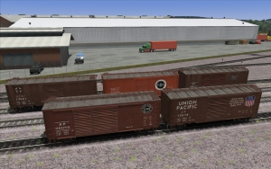 NERW Prototype PS-1 Boxcar set Released