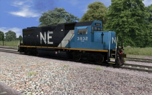 Blue GP38-2 added to Fleet