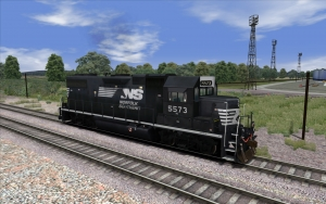 Norfolk Southern GP38-2 added to our prototype fleet