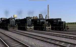 North Eastern EMD GP-38