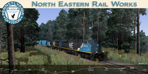 North Eastern Rail Works - NERW - Version 2 - PA Division Route Files