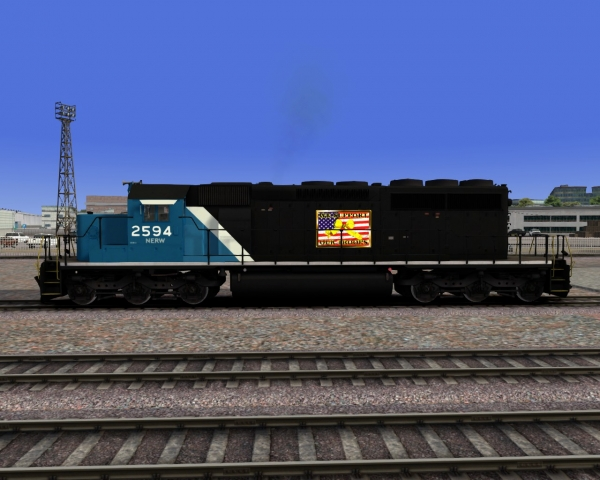 "NERW SD40-2 ""Support Our Troops"""