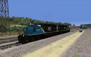 North Eastern SD40-2 in Blue