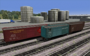 North Eastern PS1 Boxcar set