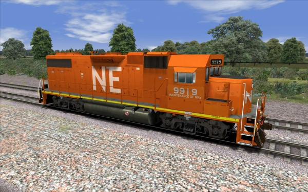 North Eastern GP 38-2 MOW Lo Hood