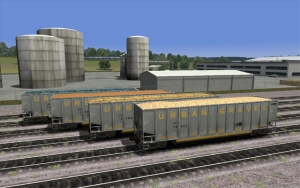 North Eastern Urban Gravel Hopper Set