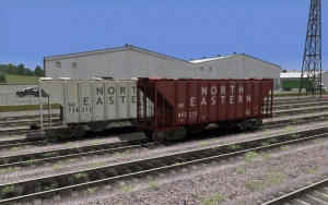 North Eastern 2 Bay Cement Hopper Set